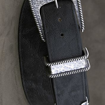 Clint Orms Jewelry~The Men's Clay Sterling Silver Belt Buckle Set