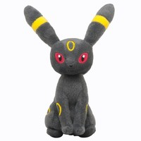Pokémon Center Original Plush Doll Sitting Trick Pose Umbreon