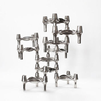 10 Sculptural Candle Holders by BMF Germany FREE SHIPPING