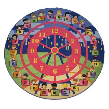 Children'S Rug - Wheel Of Fun Children'S Carpet