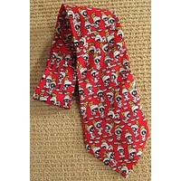 Vintage Mad For Marvin The Martian  Silk Tie