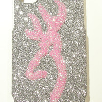 Glitter Browning iPhone 4/4S Otterbox Cell Phone Case