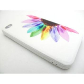 COLORFUL SUNFLOWER Ultra Light Hard Plastic Snap On Back Case for Apple iPhone 4 / 4S |In Twisted Tech Packaging|