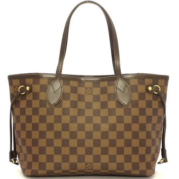 Auth LOUIS VUITTON Never full PM tote bag N