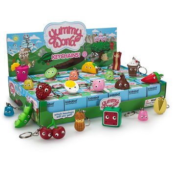 YUMMY WORLD Blind Box Keychains