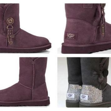 DCCK8X2 Crystal UGG Boots made with Swarovski Azalea Uggs Free: Shipping, Repair Kit, Cleaning