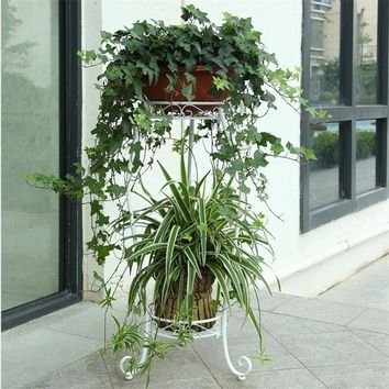 Scaffali In Metallo A Ripiani Mensole Per Fiori Decorative Metal Shelf Outdoor Decoration Balcon Balkon Stand Balcony Plant Rack