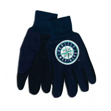 Seattle Mariners - Adult Two-Tone Sport Utility Gloves