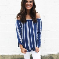 East Coast Bell Sleeve Blouse
