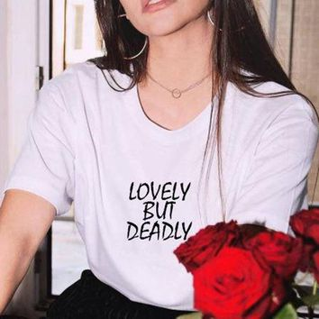 """Lovely But Deadly"" Tee"