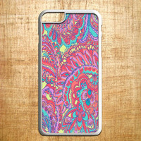 lily pulitzer flowers 2 for iphone 4/4s/5/5s/5c/6/6+, Samsung S3/S4/S5/S6, iPad 2/3/4/Air/Mini, iPod 4/5, Samsung Note 3/4, HTC One, Nexus Case *AP*