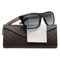 GUCCI Stylish Women Men Stripe Summer Sun Shades Eyeglasses Glasses Sunglasses I