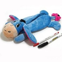 New Disney Eeyore Plush Doll pencil case bag Pouch