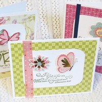 Note Cards with Bible Verses Handmade Variety Set of Twelve
