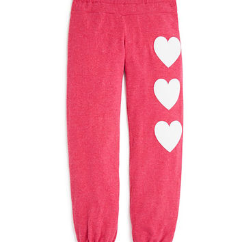 Wildfox Girls Heart Sweatpants