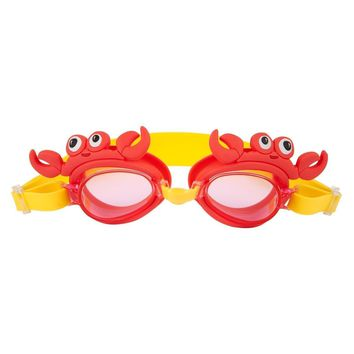 Shaped Swimming Goggles - Crabby