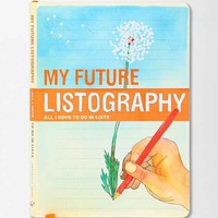 My Future Listography Journal- Assorted One