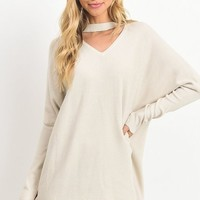 Danielle Cowl Neck Oversized Pullover [Two Colors]