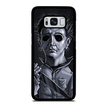 MICHAEL MYERS HALLOWEEN ART Samsung Galaxy S3 S4 S5 S6 S7 Edge S8 Plus, Note 3 4 5 8 Case Cover