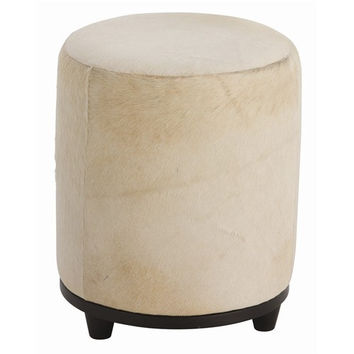 Arteriors Home Wimberley Leather Ottoman