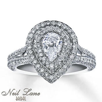 Neil Lane Bridal Ring 1 3/4 ct tw Diamonds 14K White Gold