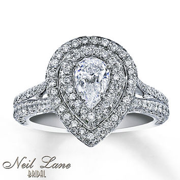 1194a2231f94 Neil Lane Bridal Ring 1 3 4 ct tw Diamonds 14K White Gold