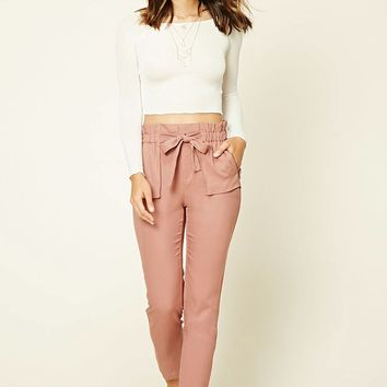 Contemporary Self-Tie Pants