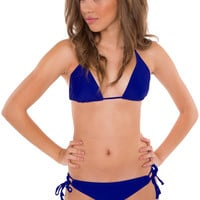 Steph Bathing Top - Royal Blue