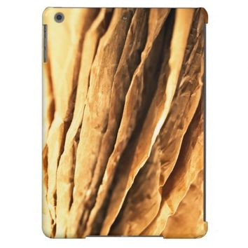 abstract textured paper design cover for iPad air