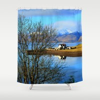 Bliss Shower Curtain by Haroulita | Society6