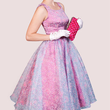 Tatyana Pink & Blue Aurora Dress - Women & Plus | zulily
