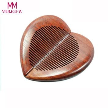 2pc/Lot Wood Pocket Combs Kit Lover Couple Girlfriend Boyfriend Gift Combs High Quality Natural Sour Wood Comb Drop Shipping