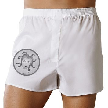 Medusa Head Coin - Greek Mythology Boxers Shorts by TooLoud