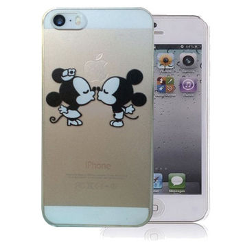 Disney's Mickey and Minnie MouseiPhone 5 / 5s / SE Clear Case