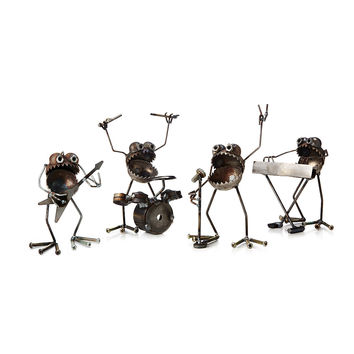 Heavy Metal Rock Band | Desk Sculptures