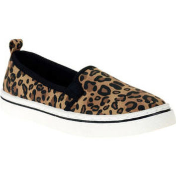 Walmart: Garanimals Toddler Girl's Casual Leopard Slip-on Shoe