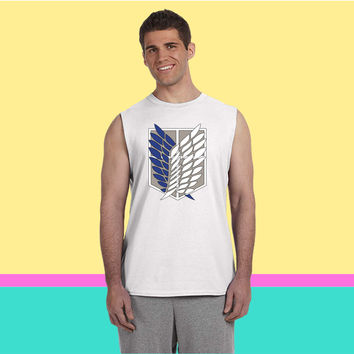 Survey Corps Sleeveless T-shirt