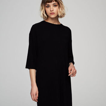 Short sleeved ribbed dress - See all - New - Woman - PULL&BEAR United Kingdom