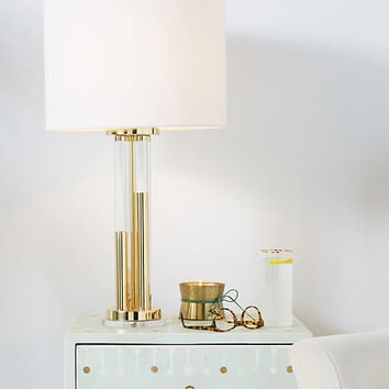 Bettany Lucite Lamp Emsemble