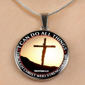 I Can Do All Things - Luxury Christian Necklace