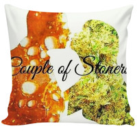 Couple of Stoners-Couch Pillow