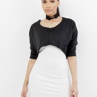 TIME OUT CUT OFF SWEATSHIRT