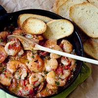 Cilantro Lime Shrimp | Never Enough Thyme - Recipes and food photographs with a slight southern accent.