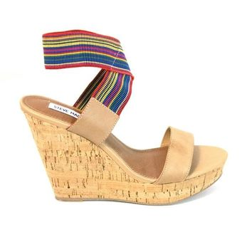 Steve Madden Roperr - Bright / Multi Wedge Sandal