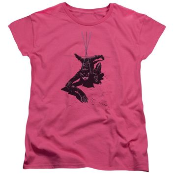 Batman - Catwoman Rope Short Sleeve Women's Tee