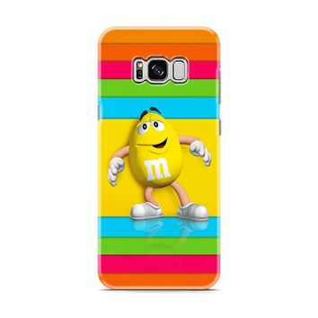 M&M's Yellow Candy Rainbow Samsung Galaxy S8 | Galaxy S8 Plus case