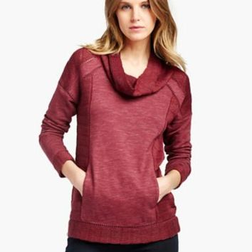 DRAPEY SWIT MIX PULLOVER