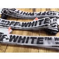 OFF-White transparent belt with INS super - popular for men and women