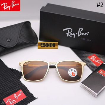 RayBan trend men and women driving driving color film large frame sunglasses #2