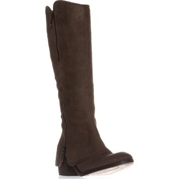 Donald J Pliner Casual Knee-High Boots, Dark Olive/Dark Olive, 6 US